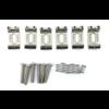 American Standard Stratocaster Bridge Saddles ('08-Present), Nickel, Set of 6