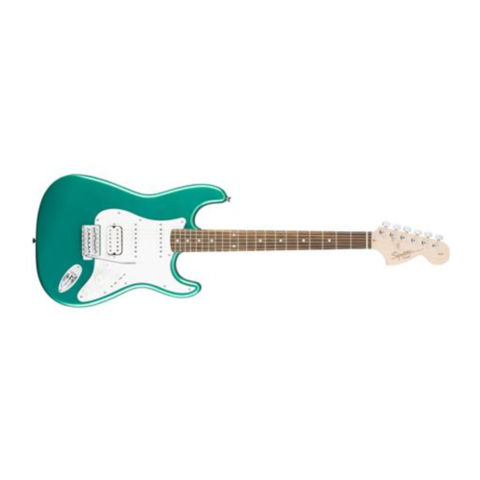 Squier Affinity Series Stratocaster HSS, Laurel Fb, Race Green