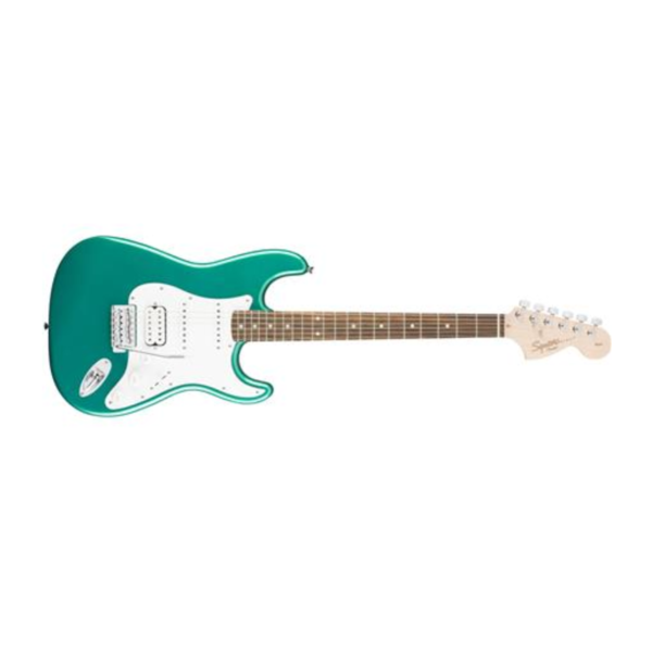 Squier Fender Affinity Series Stratocaster HSS, Laurel Fingerboard, Race Green