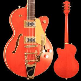 Gretsch Guitars Gretsch G5655TG Electromatic Center Block Jr. Single Cut, Laurel FB, Orange Stain S/N CYGC18120275