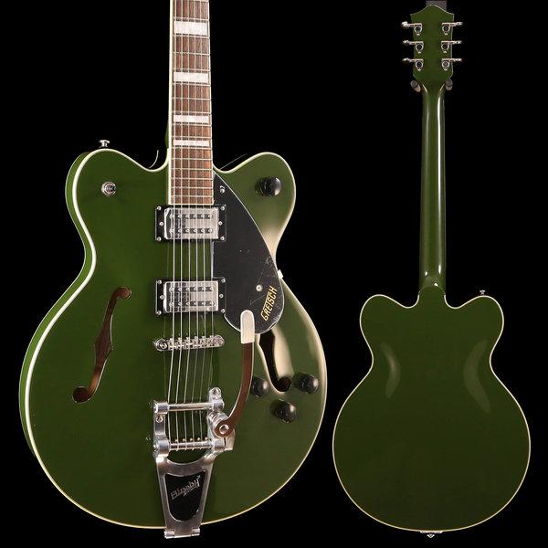 Gretsch Guitars Gretsch G2622T Streamliner Center Block w/ Bigsby, Laurel FB, Torino Green S/N IS190101083 7lbs 5oz