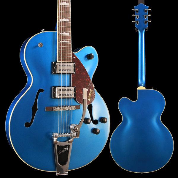 Gretsch Guitars Gretsch G2420T Streamliner w Bigsby, Riviera Blue IS190202002 7lbs 1.1oz