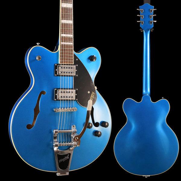 Gretsch Guitars Gretsch G2622T Streamliner Center Block w/ Bigsby, Laurel FB, Riviera Blue S/N IS181201503 7lb 2.6oz