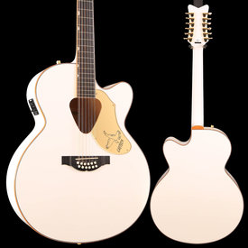 Gretsch Guitars Gretsch G5022CWFE-12 Rancher Falcon Jumbo 12str Cutaway Electric, White S/N IS181200334 6lbs 3.3oz