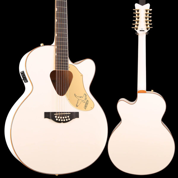 Gretsch Guitars Gretsch G5022CWFE-12 Rancher Falcon Jumbo 12-String Cutaway Electric, White S/N IS181200334 6lbs, 3.3oz