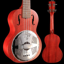 Gretsch Guitars Gretsch G9112 Resonator-Uke with Gig Bag, Ovangkol FB, Honey Mahogany Stain S/N CAU1805046 1lb 8.9oz