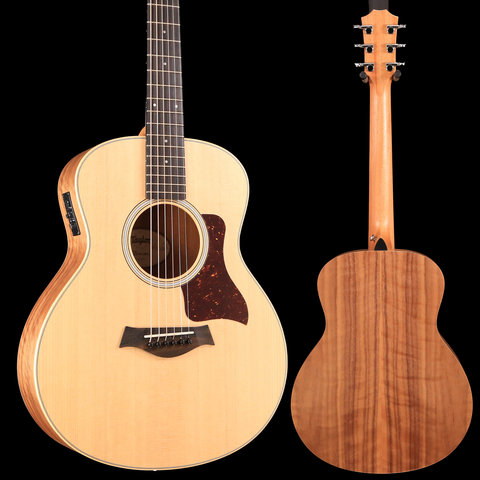 Taylor GS MINI-e Walnut with ES-B Electronics - Natural S/N 2102279317 3lbs, 9.2oz