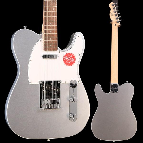 Squier Fender Squier Affinity Series Telecaster Laurel Fingerboard-Slick Silver S/N ICS19011242 6lbs 14.5oz