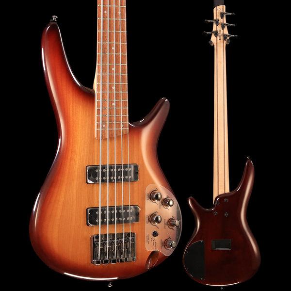 Ibanez Ibanez SR375ENNB SR Standard 5str Electric Bass - Natural Browned Burst S/N 190119381 9lbs 1.1oz