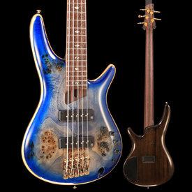 Ibanez Ibanez SR2605CBB SR Premium 5str Electric Bass - Cerulean Blue Burst S/N 190120578 9lbs 0.9oz