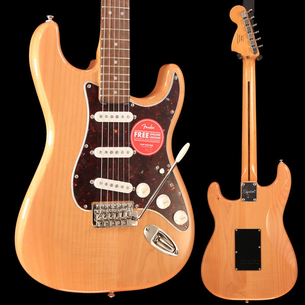 Fender Squier Classic Vibe '70s Stratocaster, Laurel Fingerboard, Natural S/N ICS19040029 7lbs 15oz