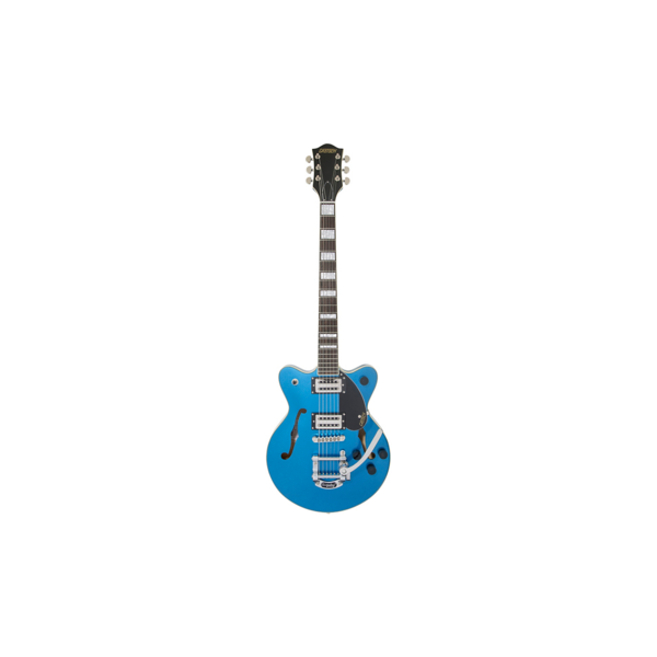 Gretsch Guitars Gretsch G2655T Streamliner Center Block Jr. w/ Bigbsy, Laurel Fingerboard, Broad'Tron BT-2S Pickups, Fairlane Blue S/N IS190202456