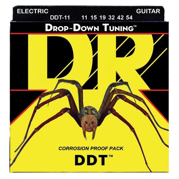 DR Handmade Strings DR Strings DDT-11 Heavy DDT: Drop Down Tuning: 11, 15, 19, 32, 42, 54