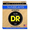 DR Strings RCA-12 Light SUNBEAM Phosphor Bronze Acoustic: 12, 16, 24, 32, 42, 54