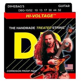 DR Handmade Strings DR Strings DBG-10/52 Big/Hvy Dimebag Darrell Nickel Pltd: 10, 13, 17, 30, 44, 52
