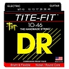 DR Strings MT-10 Med Tite-Fit Nickel Plated Electric: 10, 13, 17, 26, 36, 46