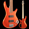Ibanez GSR205ROM Gio Soundgear 5-String Electric Bass Roadster Orange Metallic S/N I190208088 7lbs 14.4oz
