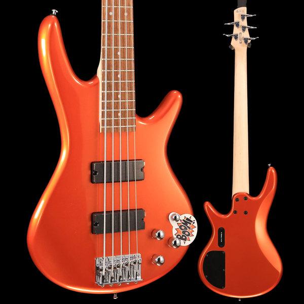 Ibanez Ibanez GSR205ROM Gio Soundgear 5-String Electric Bass Roadster Orange Metallic S/N 190405630