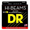 DR Strings MR-45 Medium HI-BEAM  - Stainless Steel: 45, 65, 85, 105