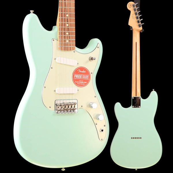 Fender Duo-Sonic SS, Pau Ferro Fingerboard, Surf Green S/N MX17902338 6lbs 2.3oz