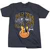 Gibson GA-PBGMXXL Played By The Greats T (Charcoal), XXL