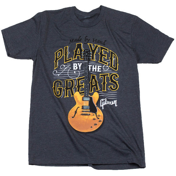 Gibson Gibson GA-PBGMXXL Played By The Greats T (Charcoal), XXL
