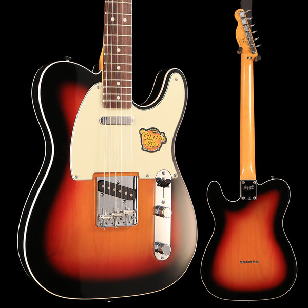 Squier Fender Classic Vibe Telecaster Custom, Laurel Fingerboard, 3-Color Sunburst S/N CGS1811801 7lb 6.6oz