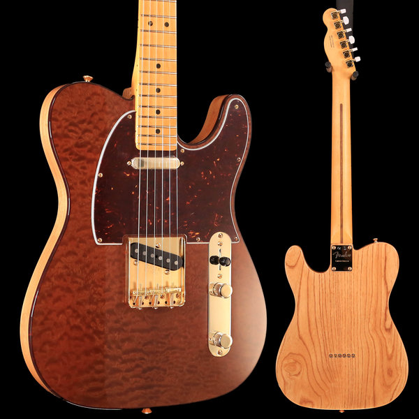 Fender Rarities Red Mahogany Top Telecaster, Maple Neck, Natural S/N US19007726 7lbs 14.3oz