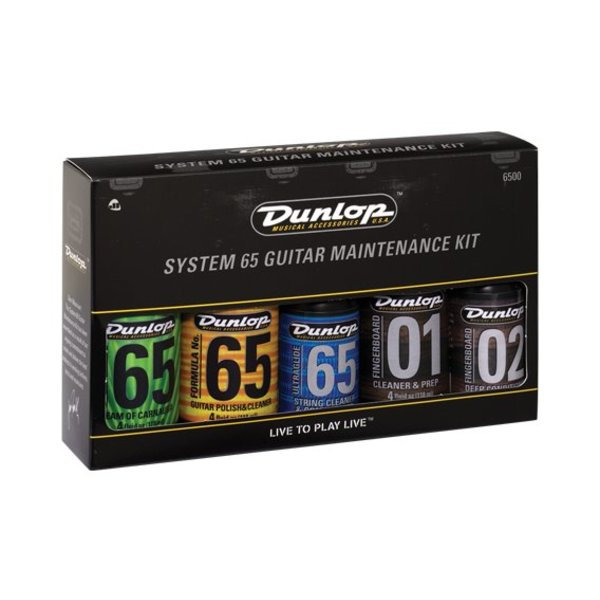 Jim Dunlop Dunlop 6500 Formula 65 Care Kit