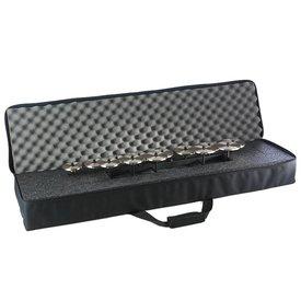 Zildjian Cymbals Zildjian P0638 Deluxe Crotale Carrying Bag, Durable Canvas