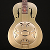 G9201 Honey Dipper Round-Neck Guitar, Brass Body, Shed Roof Finish S/N CAXR191653 8lbs 13.4oz