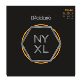 D'Addario D'Addario NYXL1046 Nickel Wound Electric Guitar Strings, Regular Light, 10-46 Balanced Tension