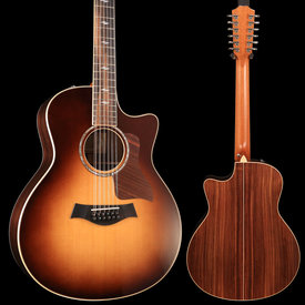 Taylor Taylor 856ce 12-String Rosewood/Spruce Grand Symphony AE Sunburst Venetian Cutaway