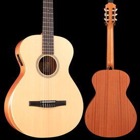 Taylor Taylor Academy 12e-N Grand Concert Nylon String Acoustic - Natural S/N 2112108369 3lbs 13.3oz