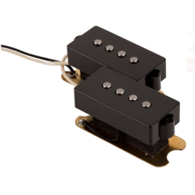 Fender Pickup, P Bass, American Standard Series 5-String, Black
