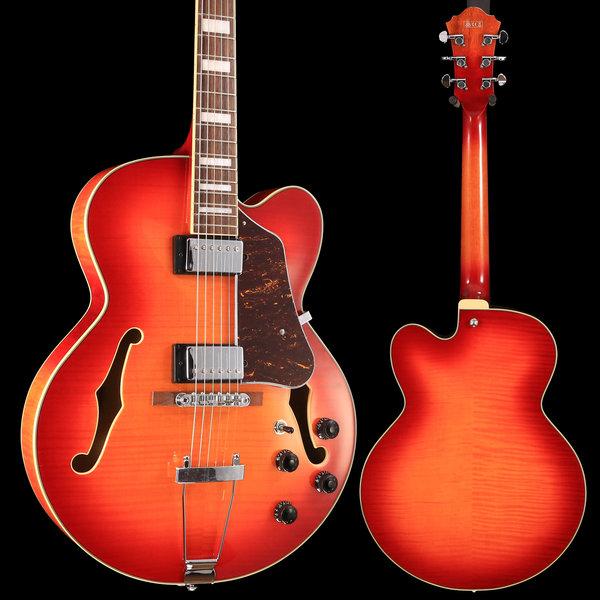 Ibanez Ibanez AF Artcore 6str Electric Guitar - Aged Whiskey Burst S/N PW19021253, 6lbs 4.9oz