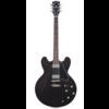 Gibson ESDSBLNH1 ES-335 Satin 2020 Trans Black