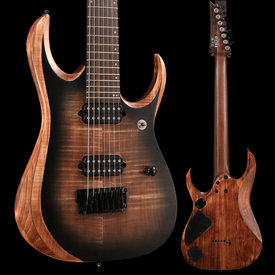 Ibanez Ibanez RGD71ALANB RGD Axion Label 7str Electric Guitar - Antique Brown Stained Burst SN/181122347, 7lbs, 12.6oz
