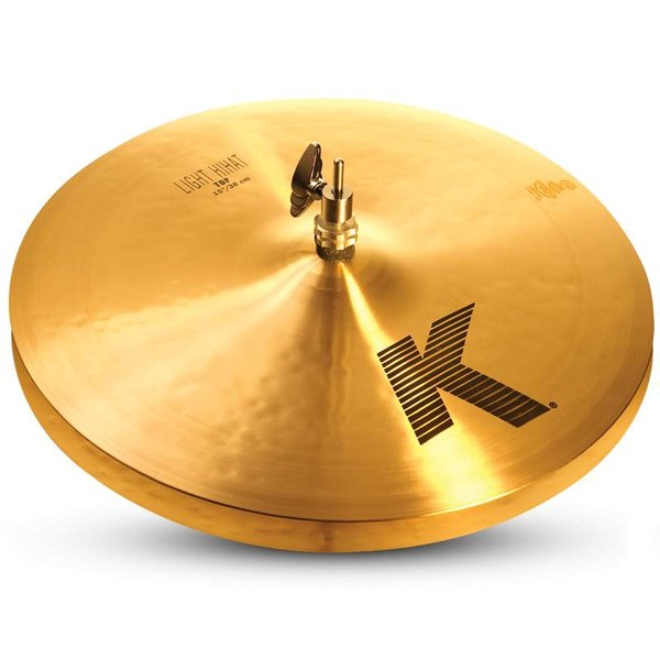 "Zildjian Zildjian K0925 15"" K Light Hi Hat - Bottom"