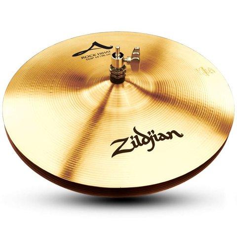 "Zildjian A0161 14"" A Zildjian Rock Hi Hat - Top"