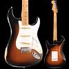 Road Worn '50s Stratocaster, Maple Fingerboard, 2-Color Sunburst S/N MX18176353, 7 lbs, 10.3 oz