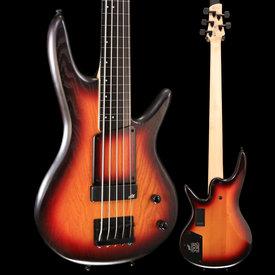 Ibanez Ibanez GWB20THTQF Gary Willis Sig. 5str Electric Bass, Tequila Sunrise Flat S/N I190121646 8lbs .5oz