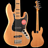 Squier Classic Vibe '70s Jazz Bass V, Maple Fingerboard, Natural S/N ICS19042407, 10lbs 1.4oz