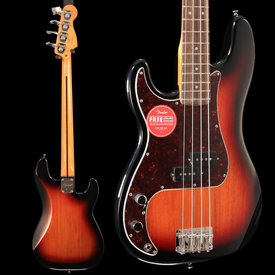 Squier Squier Classic Vibe '60s Precision Bass LH, Laurel FB, 3-Color Sunburst S/N ICS19008050, 8lbs 10.9oz