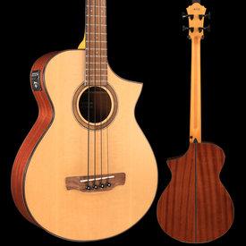 Ibanez Ibanez AEWB32NT Bass Series - Natural High Gloss S/N 181100706, 5lbs 9.5oz