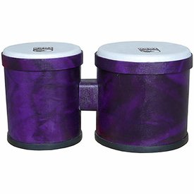 Toca NEW Toca Freestyle Bongos - Woodstock Purple