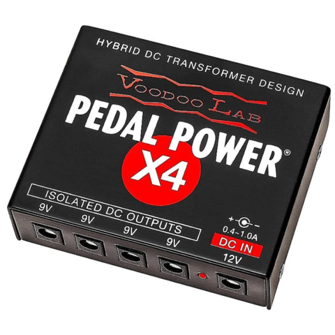 Voodoo Lab Pedal Power X4 120V
