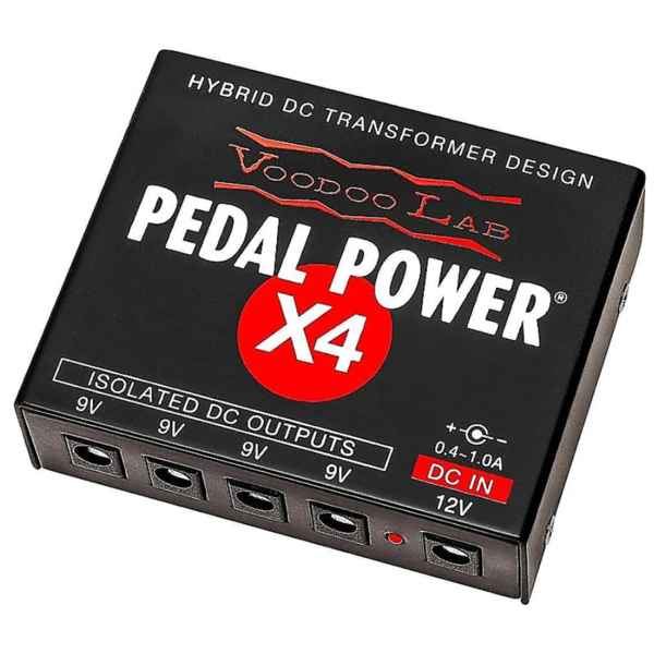 Voodoo Lab Voodoo Lab Pedal Power X4 120V