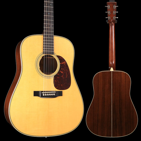 Martin Martin HD-28E (LR Baggs Electronics) (New 2018) Standard Series (Case Included) S/N 2207926 - Demo