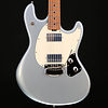 Ernie Ball Music Man StingRay Guitar HH Trem Firemist Silver Fig Roasted Maple w/ Hard Case S/N G94930 7lbs 8.1oz